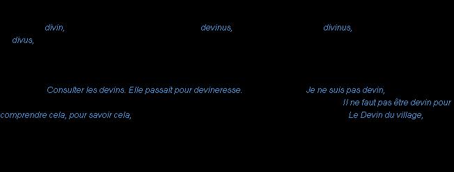 Devin la d finition for Tartuffe definition