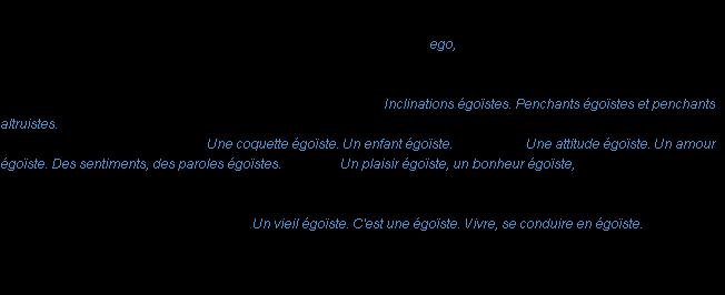 BSCPC-ces fonctions Definition-egoiste-acad1986