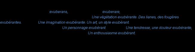 Exub rant la d finition for Fabliau definition