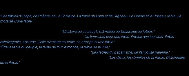 Fable la d finition for Fabliau definition