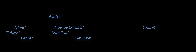 Fablier la d finition for Fabliau definition