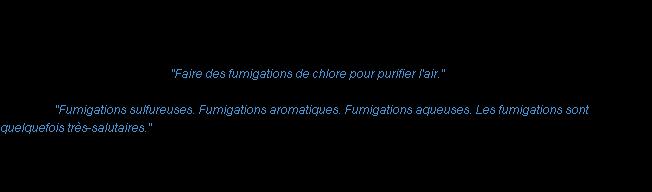 Définition Fumigation ACAD 1835