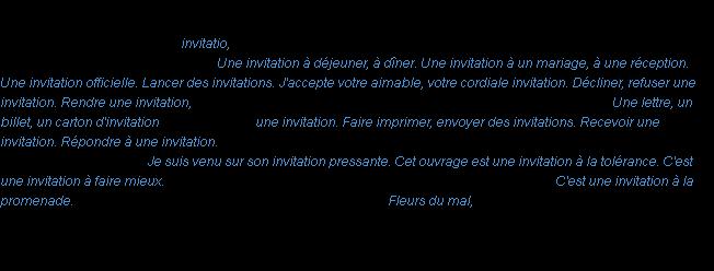 Invitation la dfinition dfinition invitation acad 1986 stopboris Gallery
