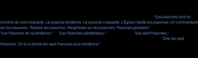 487cfe80f6f549 Définition psaume ACAD 1835