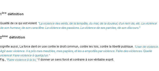 a definition of violence While no standard definition of violence has been established, it is important, when developing effective prevention strategies, to have a clear understanding of violence and the context in which it occurs in its 2002 world report on violence and health, the world health organisation (who) proposes a definition of violence.